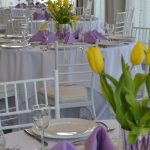 Tables with Flowers