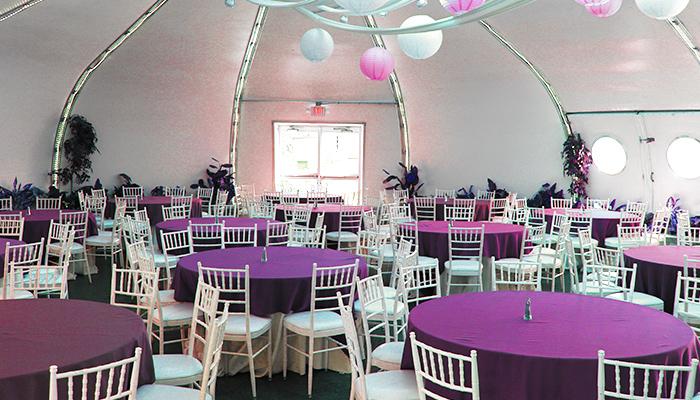 Riverfront Room Party set up