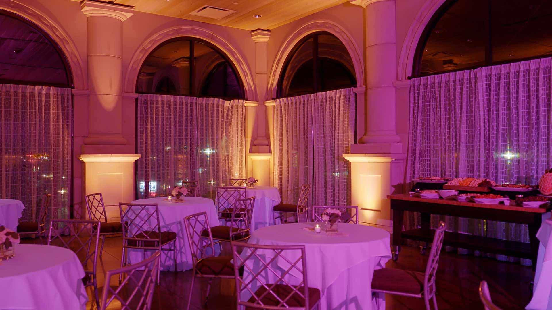 The Terrace Room of The Sea Star Ballroom
